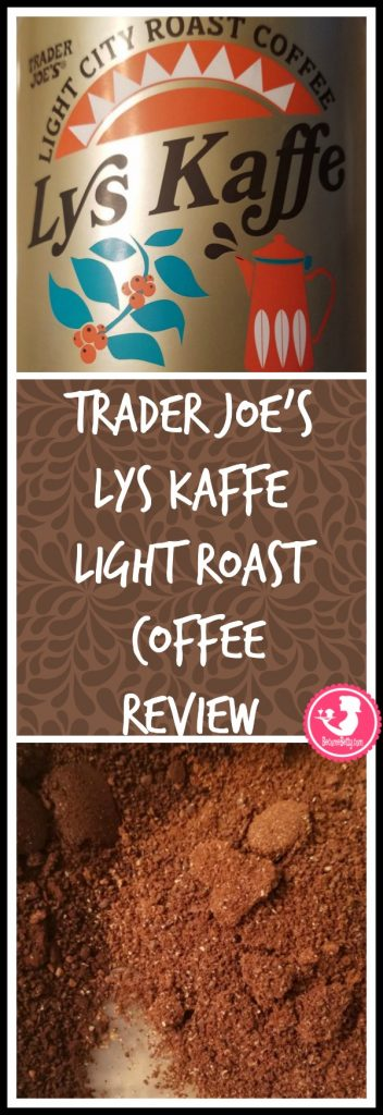 Trader Joe's Lys Kaffe Light Roast Coffee Review. Want to know if this is something worth buying from Trader Joe's? All pins link to BecomeBetty.com where you can find reviews, pictures, thoughts, calorie counts, nutritional information, how to prepare, allergy information, price, and how to prepare each product.
