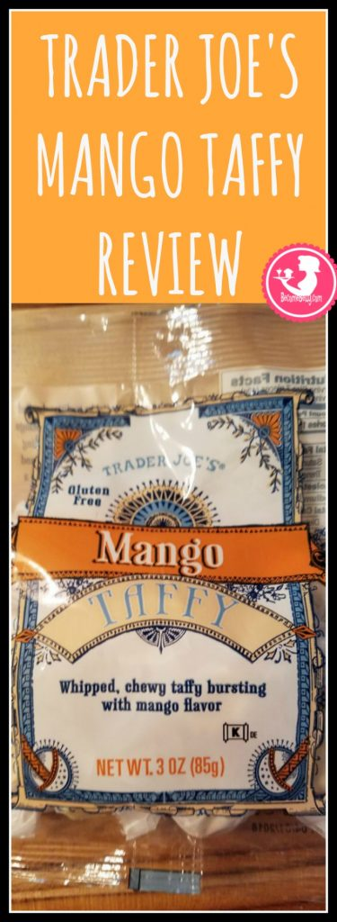 Trader Joes Mango Taffy is a seasonal treat. Want to know if this is something worth buying from Trader Joe's? All pins link to BecomeBetty.com where you can find reviews, pictures, thoughts, calorie counts, nutritional information, how to prepare, allergy information, and how to prepare each product.