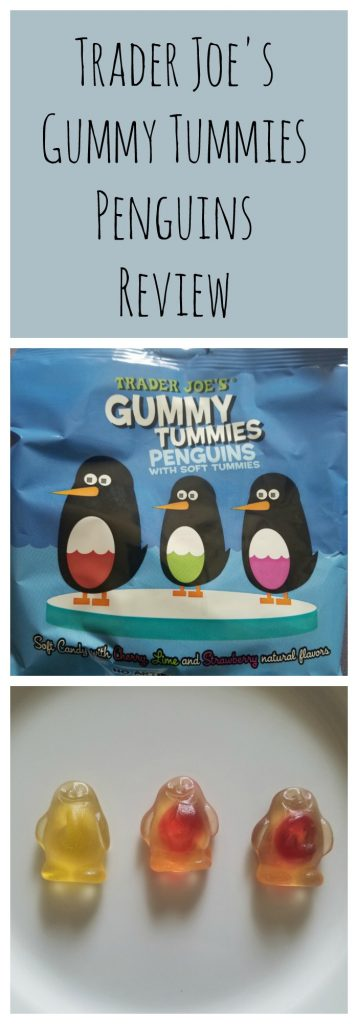 Trader Joes Gummy Tummies Penguins Review. Want to know if this is something worth buying from Trader Joe's? All pins link to BecomeBetty.com where you can find reviews, pictures, thoughts, calorie counts, nutritional information, how to prepare, allergy information, and how to prepare each product.