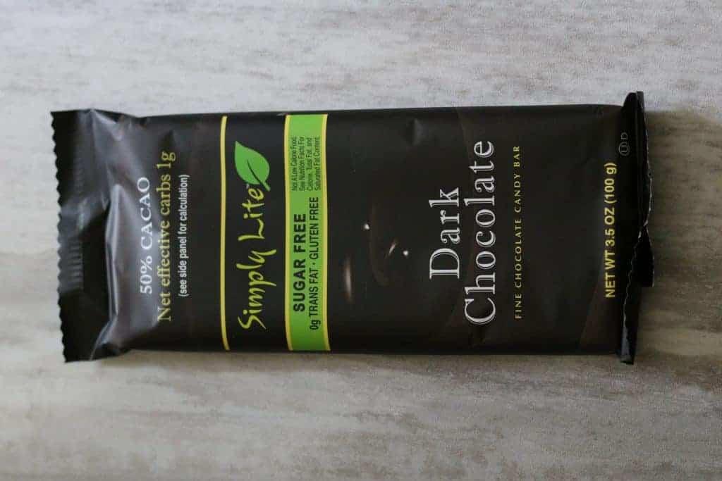 Simply Lite Dark Chocolate