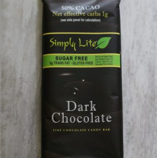 Simply Lite Dark Chocolate Bar