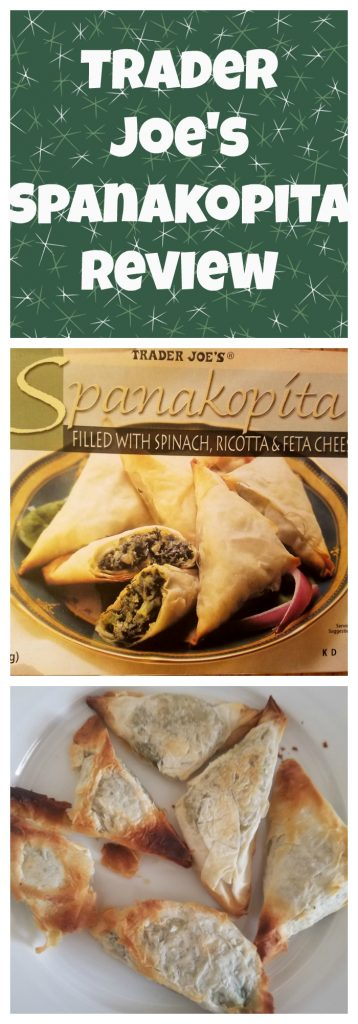 Trader Joes Spanakopita review. Want to know if this is something worth buying from Trader Joe's? All pins link to BecomeBetty.com where you can find reviews, pictures, thoughts, calorie counts, nutritional information, how to prepare, allergy information, and how to prepare each product.
