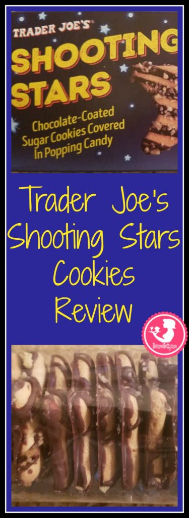 Trader Joe's Shooting Stars Cookies review. Want to know if this is something worth buying from Trader Joe's? All pins link to BecomeBetty.com where you can find reviews, pictures, thoughts, calorie counts, nutritional information, how to prepare, allergy information, price and how to prepare each product.