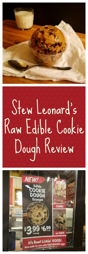 Read on for a full review of Stew Leonard's Edible Cookie Dough available at most stores.