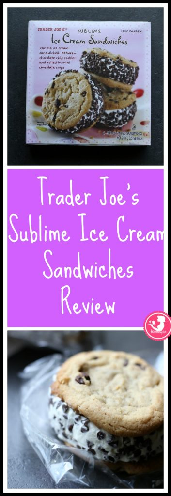 Trader Joe's Sublime Ice Cream Sandwiches review. Want to know if this is something worth putting on your shopping list from Trader Joe's? All pins link to BecomeBetty.com where you can find reviews, pictures, thoughts, calorie counts, nutritional information, how to prepare, allergy information, price, and how to prepare each product.