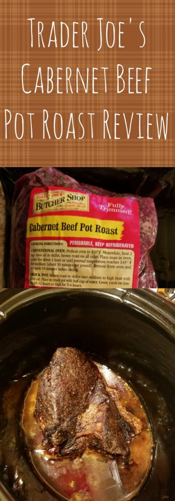 Trader Joes Cabernet Pot Roast Review. Want to know if this is something worth buying from Trader Joe's? All pins link to BecomeBetty.com where you can find reviews, pictures, thoughts, calorie counts, nutritional information, how to prepare, allergy information, and how to prepare each product.