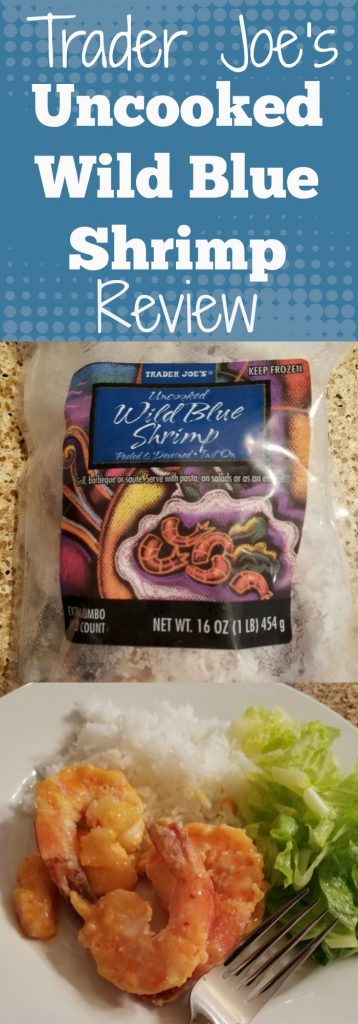 Trader Joes Uncooked Wild Blue Shrimp review. Want to know if this is something worth buying from Trader Joe's? All pins link to BecomeBetty.com where you can find reviews, pictures, thoughts, calorie counts, nutritional information, how to prepare, allergy information, and how to prepare each product.