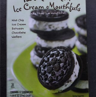 Trader Joe's Mini Mint Ice Cream Mouthfuls