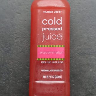 Trader Joe's Cold Pressed Watermelon Juice