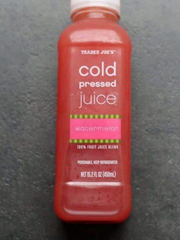 Trader Joe's Cold Pressed Watermelon
