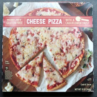 Trader Joe's Gluten Free Cheese Pizza with Cauliflower Crust