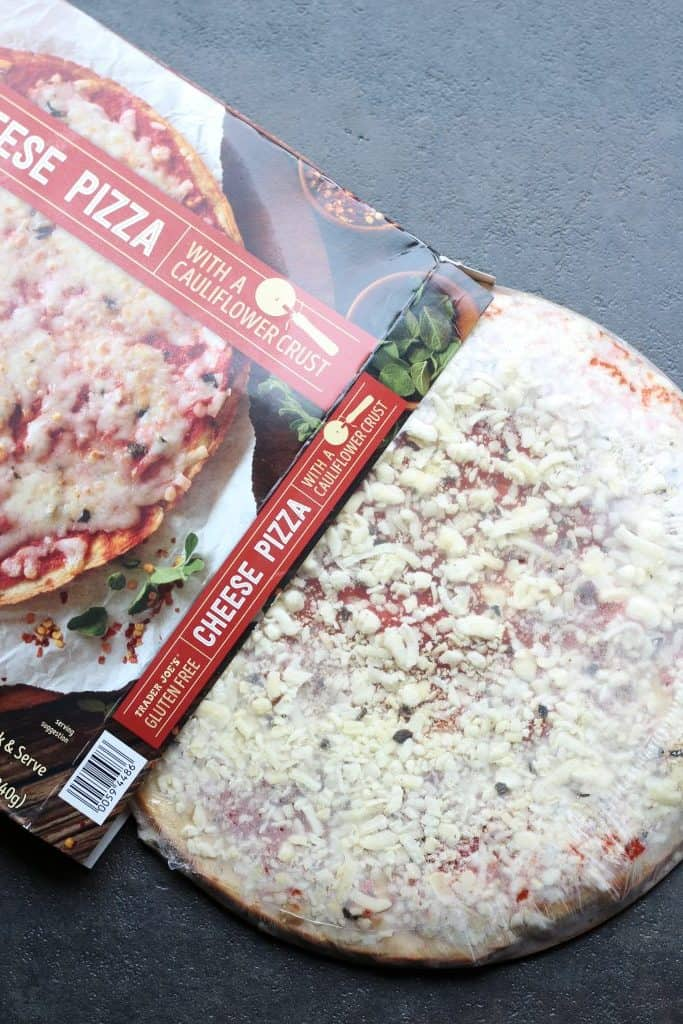 Cauliflower Pizza Crust. Trader Joe's continues to blow our minds with delicious and affordable vegan products. The latest and greatest item is a gluten-free pizza crust .