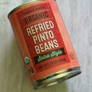 Trader Joe's Organic Refried Pinto Beans Salsa Style