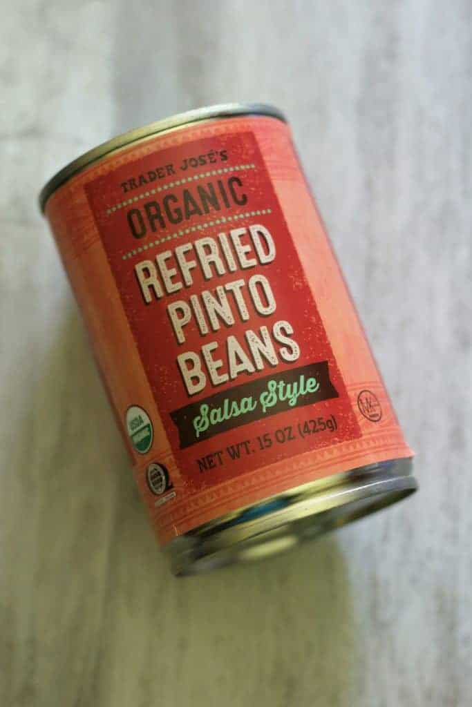 Trader Joe's Organc Refried Pinto Beans Salsa Style