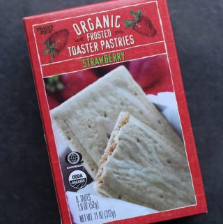 Trader Joe's Organic Frosted Strawberry Toaster Pastries