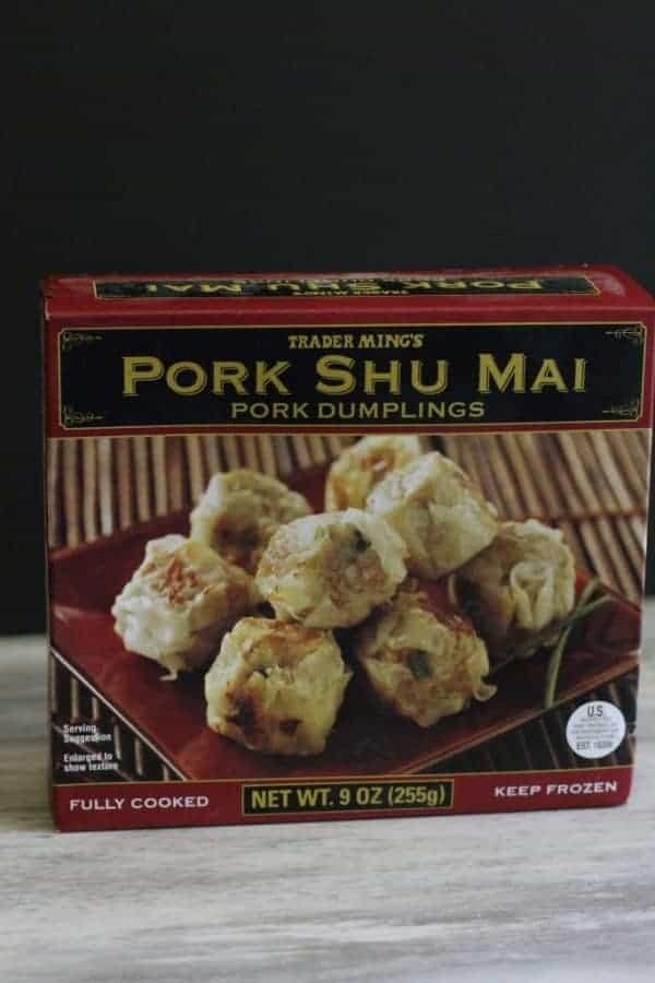 Trader Joe's Pork Shu Mai