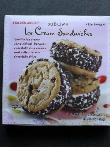 Trader Joe's Sublime Ice Cream Sandwiches