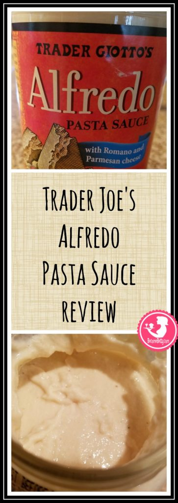Trader Joe's Alfredo Pasta Sauce review. Want to know if this is something worth putting on your shopping list from Trader Joe's? All pins link to BecomeBetty.com where you can find reviews, pictures, thoughts, calorie counts, nutritional information, how to prepare, allergy information, price, and how to prepare each product.