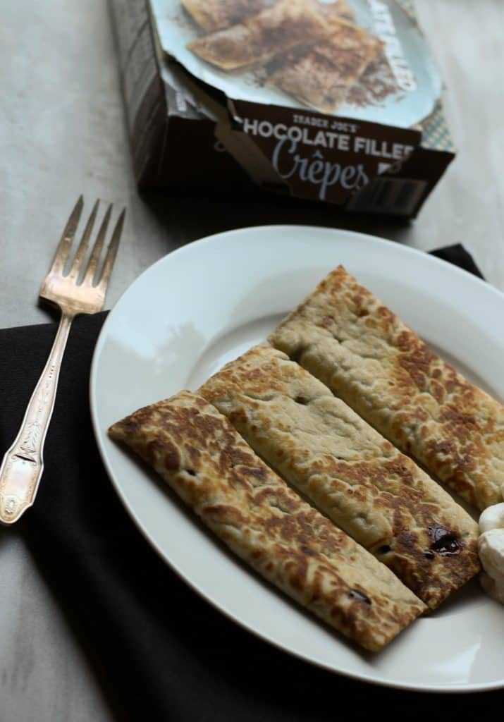 Trader Joe's Chocolate Filled Crepes
