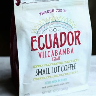 Trader Joe's Ecuador Vilcabamba Small Lot Coffee