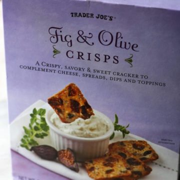 Trader Joe's Fig and Olive Crisps