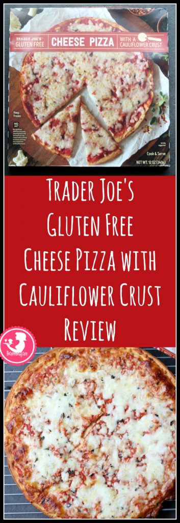 Trader Joe's Gluten Free Cheese Pizza with Cauliflower Pizza Crust review. Want to know if this is something worth buying from Trader Joe's? All pins link to BecomeBetty.com where you can find reviews, pictures, thoughts, calorie counts, nutritional information, how to prepare, allergy information, price, and how to prepare each product.
