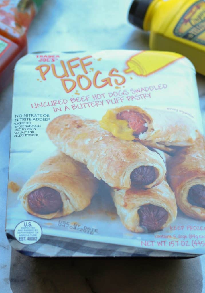 Trader Joe's Puff Dogs