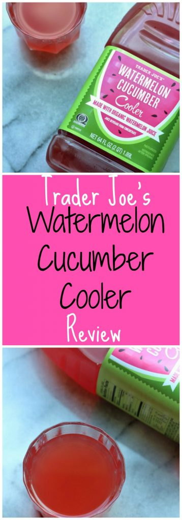 Trader Joes Watermelon Cucumber Cooler Review. Want to know if this is something worth buying from Trader Joe's? All pins link to BecomeBetty.com where you can find reviews, pictures, thoughts, calorie counts, nutritional information, how to prepare, allergy information, and how to prepare each product.