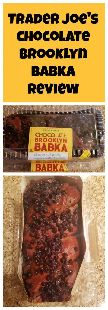 Trader Joes Chocolate Brooklyn Babka review. Want to know if this is something worth buying from Trader Joe's? All pins link to BecomeBetty.com where you can find reviews, pictures, thoughts, calorie counts, nutritional information, how to prepare, allergy information, and how to prepare each product.