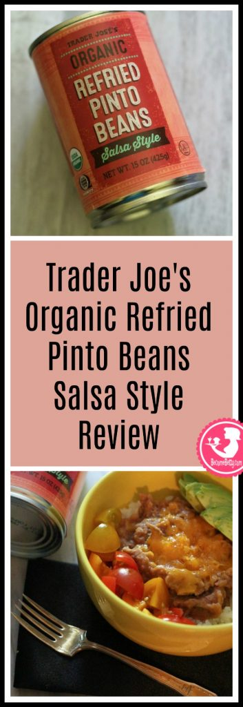 Trader Joe's Organic Refried Pinto Beans Salsa style review is posted about this vegan product. Want to know if this is something worth buying from Trader Joe's? All pins link to BecomeBetty.com where you can find reviews, pictures, thoughts, calorie counts, nutritional information, how to prepare, allergy information, price, and how to prepare each product.