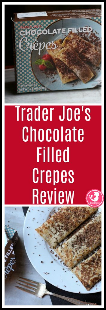 Trader Joe's Chocolate Filled Crepes review. Want to know if this is something worth putting on your shopping list from Trader Joe's? All pins link to BecomeBetty.com where you can find reviews, pictures, thoughts, calorie counts, nutritional information, how to prepare, allergy information, price, and how to prepare each product.
