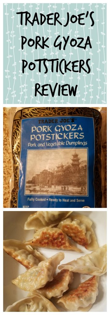 Trader Joes Pork Gyoza Potstickers review. Want to know if this is something worth buying from Trader Joe's? All pins link to BecomeBetty.com where you can find reviews, pictures, thoughts, calorie counts, nutritional information, how to prepare, allergy information, and how to prepare each product.