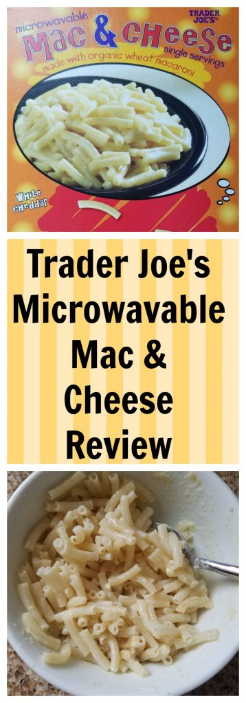 Trader Joes Microwavable Mac and Cheese review. Want to know if this is something worth buying from Trader Joe's? All pins link to BecomeBetty.com where you can find reviews, pictures, thoughts, calorie counts, nutritional information, how to prepare, allergy information, and how to prepare each product.