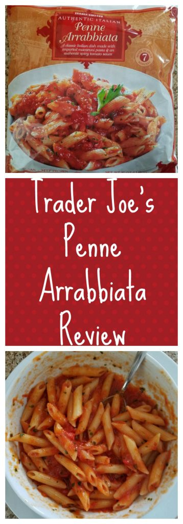 Trader Joes Penne Arrabbiata review. Want to know if this is something worth buying from Trader Joe's? All pins link to BecomeBetty.com where you can find reviews, pictures, thoughts, calorie counts, nutritional information, how to prepare, allergy information, and how to prepare each product.