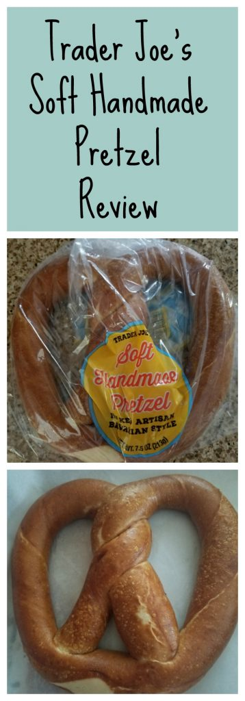 Trader Joes Soft Handmade Pretzel review. Want to know if this is something worth buying from Trader Joe's? All pins link to BecomeBetty.com where you can find reviews, pictures, thoughts, calorie counts, nutritional information, how to prepare, allergy information, and how to prepare each product.