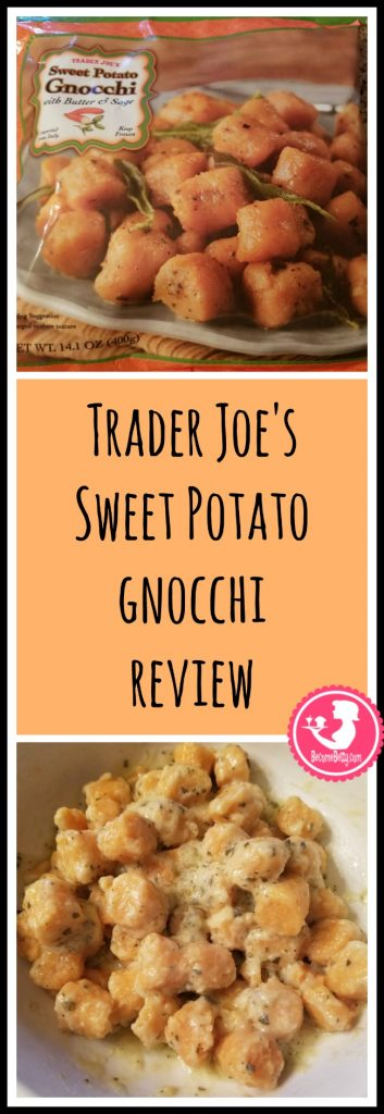 Trader Joe's Sweet Potato Gnocchi review. Want to know if this is something worth putting on your shopping list from Trader Joe's? All pins link to BecomeBetty.com where you can find reviews, pictures, thoughts, calorie counts, nutritional information, how to prepare, allergy information, price, and how to prepare each product.