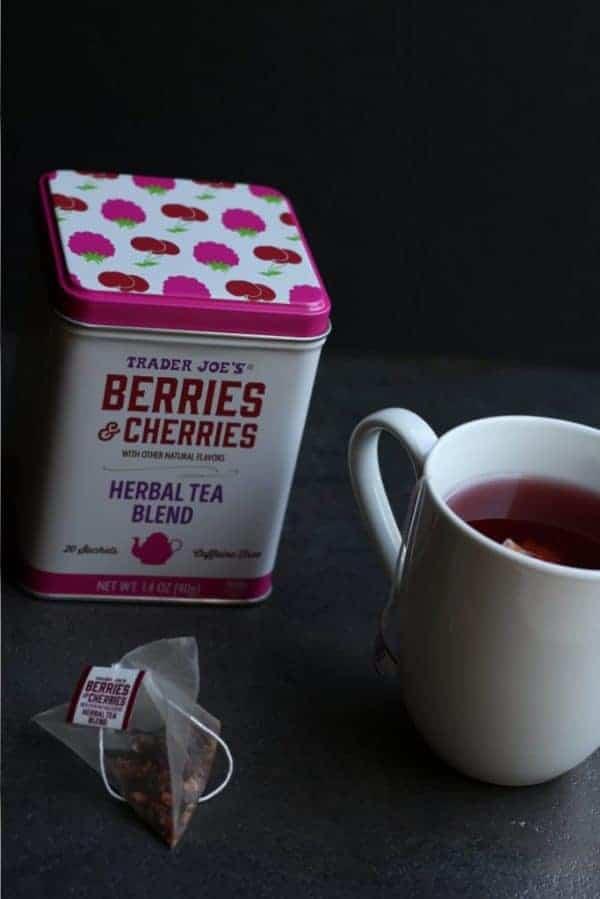 Trader Joe's Berries and Cherries Herbal Tea