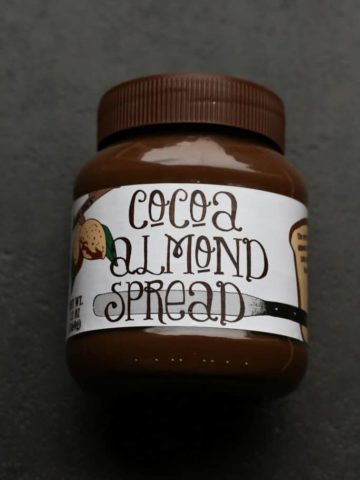 Trader Joe's Cocoa Almond Spread