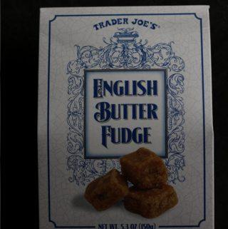 Trader Joe's English Butter Fudge