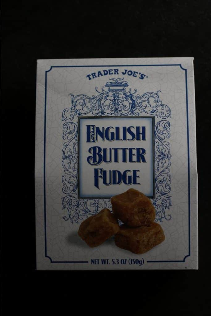 Trader Joe's English Butter Fudge
