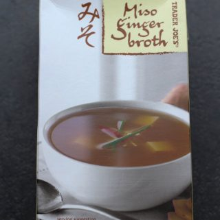 Trader Joe's Miso Ginger Broth