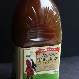 Trader Joe's Organic Tea and Lemonade