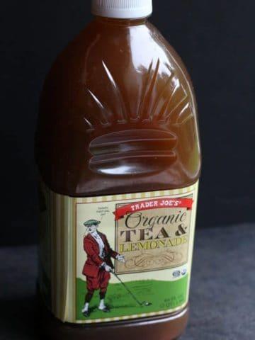 Trader Joe's Organic Tea and Lemonade