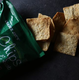 Trader Joe's Parmesan and Garlic Pita Chips