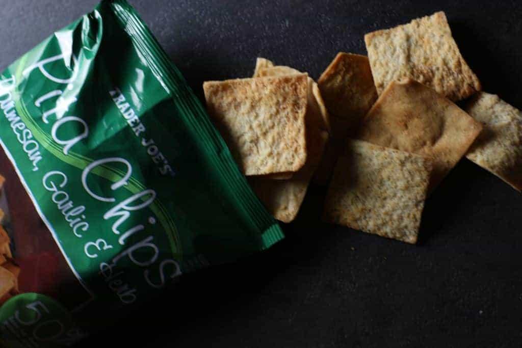 Trader Joe's Parmesan Garlic and Herb Pita Chips