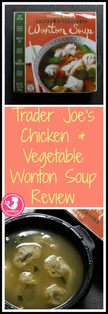 Trader Joes Chicken and Vegetable Soup review. Want to know if this is something worth putting on your shopping list from Trader Joe's? All pins link to BecomeBetty.com where you can find reviews, pictures, thoughts, calorie counts, nutritional information, how to prepare, allergy information, price, and how to prepare each product.