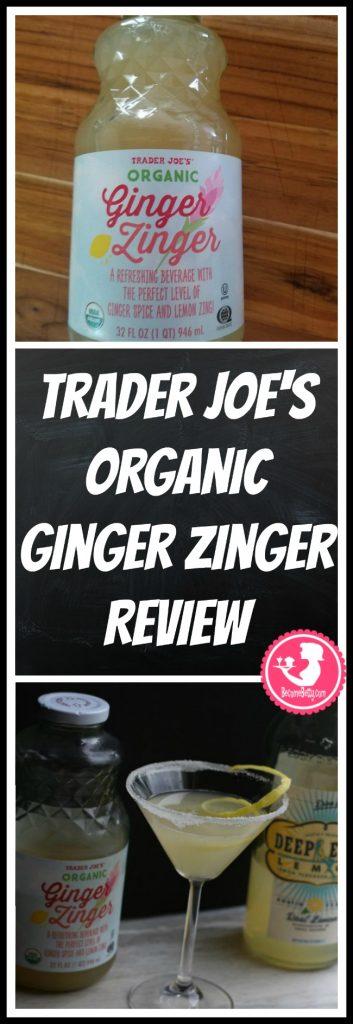 Trader Joe's Organic Ginger Zinger review. Want to know if this is something worth putting on your shopping list from Trader Joe's? All pins link to BecomeBetty.com where you can find reviews, pictures, thoughts, calorie counts, nutritional information, how to prepare, allergy information, price, and how to prepare each product.