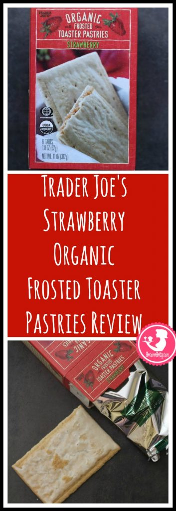 Trader Joe's Strawberry Organic Frosted Toaster Pastries review. Want to know if this is something worth putting on your shopping list from Trader Joe's? All pins link to BecomeBetty.com where you can find reviews, pictures, thoughts, calorie counts, nutritional information, how to prepare, allergy information, price, and how to prepare each product.
