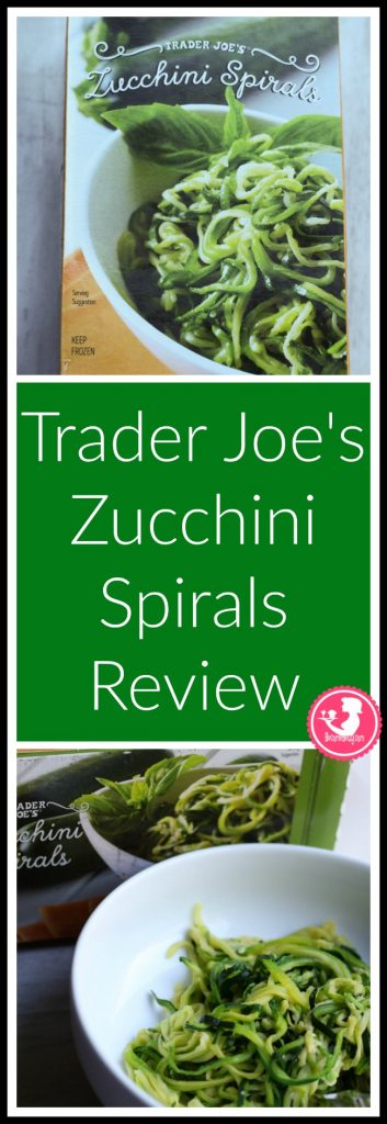 Trader Joe's Zucchini Spirals are new, frozen, and vegan. My review follows. Want to know if this is something worth putting on your shopping list? All pins like to BecomeBetty.com where you can find reviews, pictures, thoughts, calorie counts, nutritional information, how to prepare, allergy information, and price.