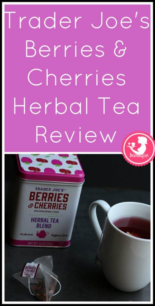 Trader Joe's Berries and Cherries Herbal Tea review. Want to know if this is something worth putting on your shopping list from Trader Joe's? All pins link to BecomeBetty.com where you can find reviews, pictures, thoughts, calorie counts, nutritional information, how to prepare, allergy information, price, and how to prepare each product.
